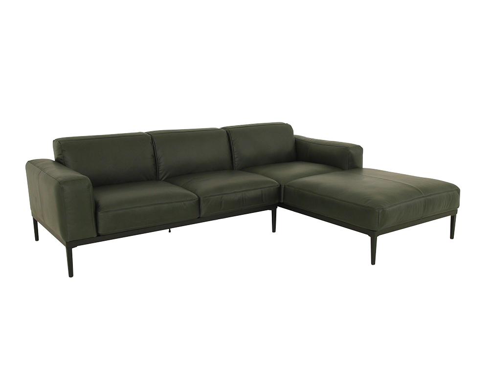 freistil 167 rolf benz sofa mit longchair rechts im. Black Bedroom Furniture Sets. Home Design Ideas