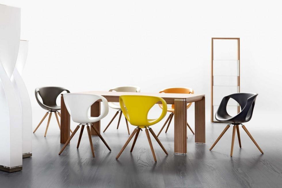 Tonon Up Chair 907 Esstisch Stuhl In Vielen Farben Und Varianten