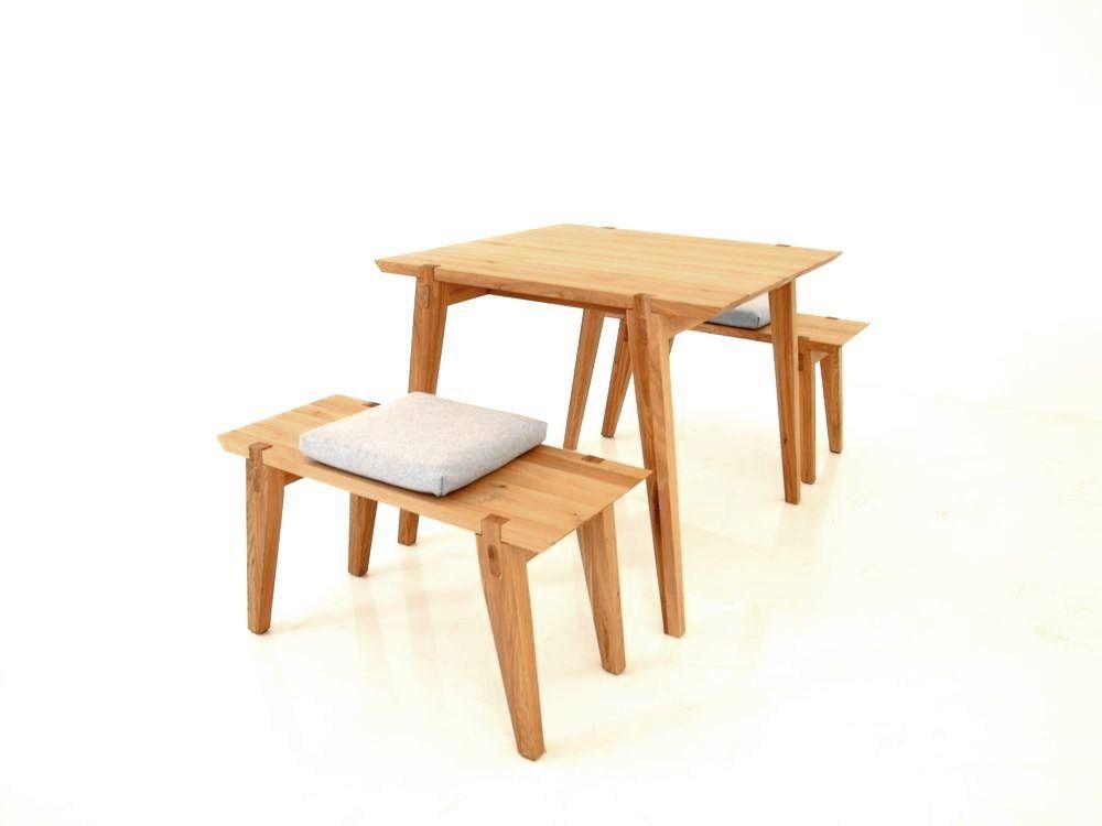 Freistil 156 Rolf Benz Quadratischer Tisch Mit Zwei