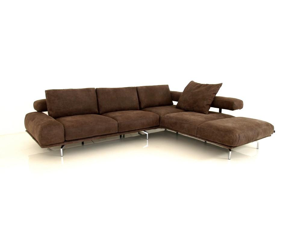 e schillig brand shine ecksofa in wunschfarbe im samtigen nubuk leder l157 ewald schillig. Black Bedroom Furniture Sets. Home Design Ideas