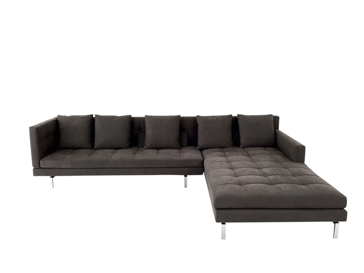 Xxl sofa grau affordable neu modernes ecksofa grau for Ecksofa weich