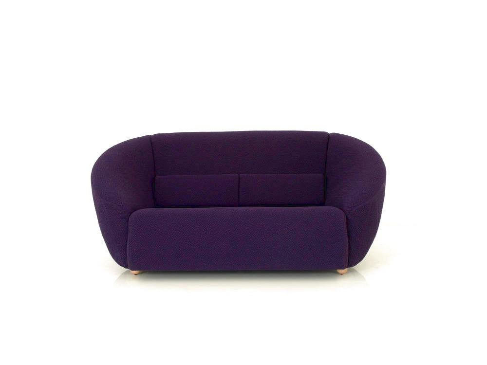 Br 252 Hl Avec Plaisir Sofa Im Strukturiertem Stoff Violett