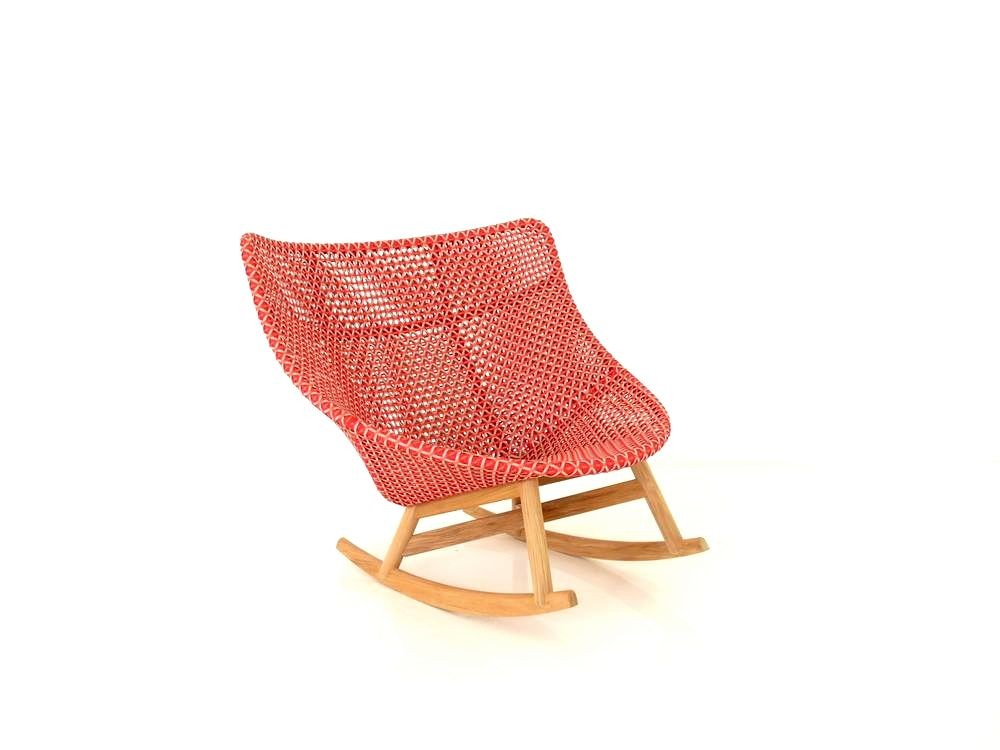Dedon Mbrace Rocking Chair Schaukel Sessel In Der Farbe