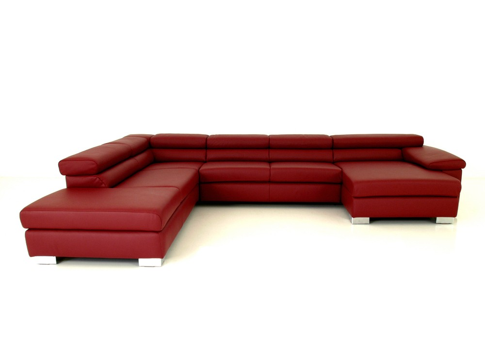 Ewald schillig brand courage xxl sofa in u form im for Couch xxl u form