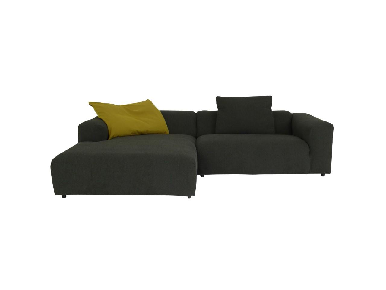 freistil 187 rolf benz im stoff schwarz grau mit longchair links freistil 187 freistil. Black Bedroom Furniture Sets. Home Design Ideas