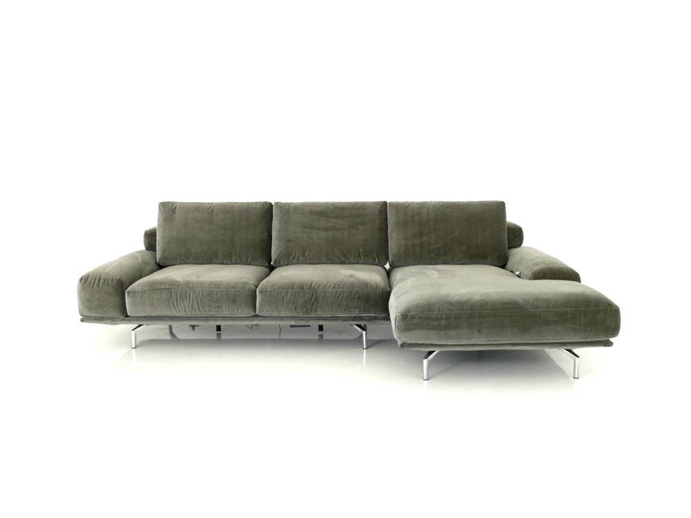 ewald schillig brand shine sofa mit mot sitzvorzug und sitzheizung im velour stoff mammut. Black Bedroom Furniture Sets. Home Design Ideas
