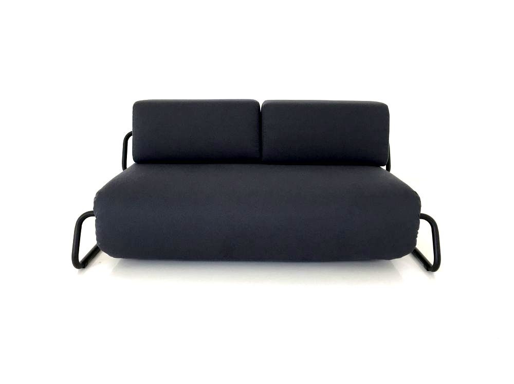 bettsofa grau finest schlafsofa sitzer schlafcouch bettsofa in graubraun mit chromfen with. Black Bedroom Furniture Sets. Home Design Ideas