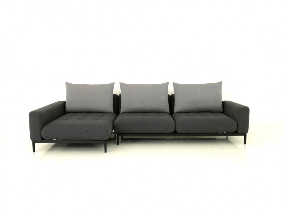 rolf benz tira sofa mit recamiere mit vorzug in stoff. Black Bedroom Furniture Sets. Home Design Ideas