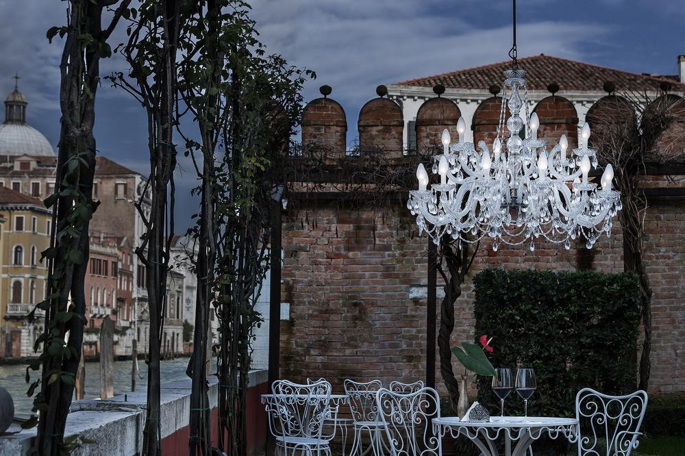 Kronleuchter Outdoor ~ Masiero drylight s 18 extreme wetterfester outdoor kronleuchter led