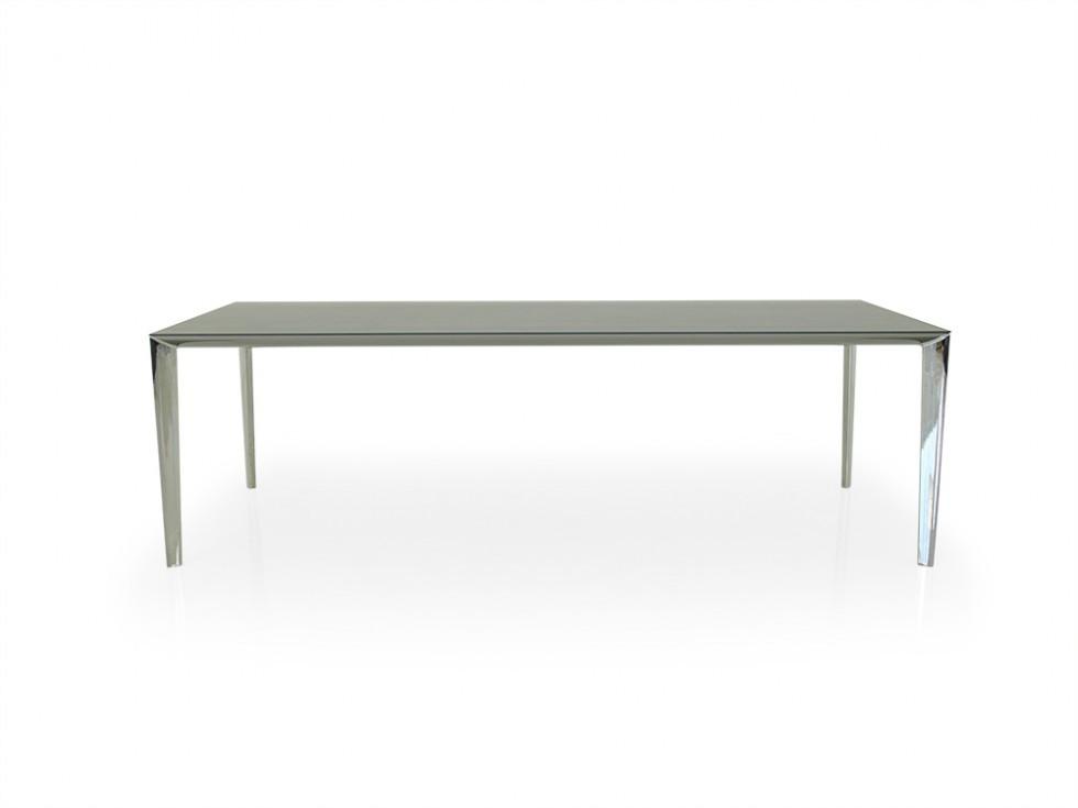 Molteni & C. FILIGREE Esstisch mit matter Tischplatte in anthrazit
