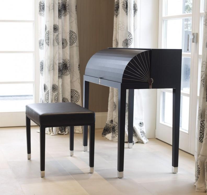 yomei miss moneypenny sekret r und hocker in leder schwarz yomei marken izabela k. Black Bedroom Furniture Sets. Home Design Ideas