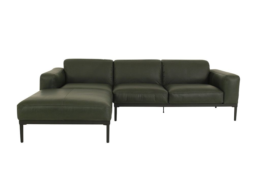 Freistil 167 Rolf Benz Sofa Mit Longchair Links Im Naturbelassenen