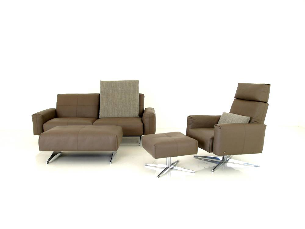 Rolf benz 50 das jubil ums sofa sessel garnitur mit for Rolf benz hocker