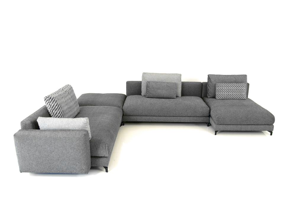 rolf benz nuvola ecksofa im naturstoff schwarz weiss mit. Black Bedroom Furniture Sets. Home Design Ideas