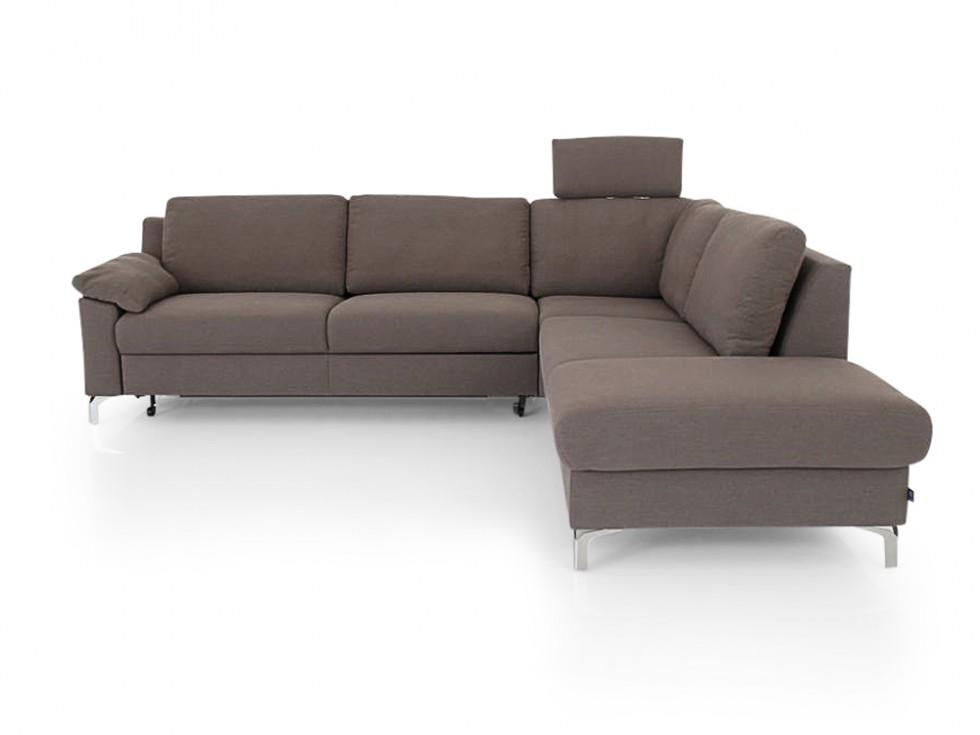 e schillig brand flexplus eckgarnitur mit bettfunktion und stauraum in stoff mammut ewald. Black Bedroom Furniture Sets. Home Design Ideas