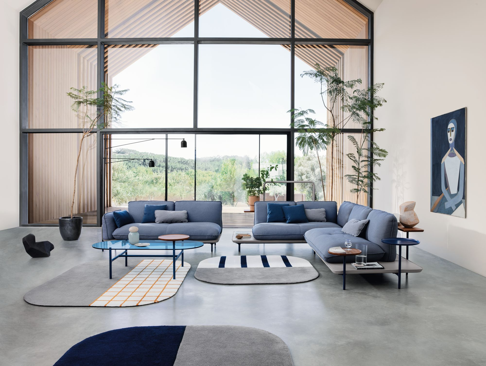 Rolf Benz ADDIT Sofa mit wandelbaren Sofa Elementen