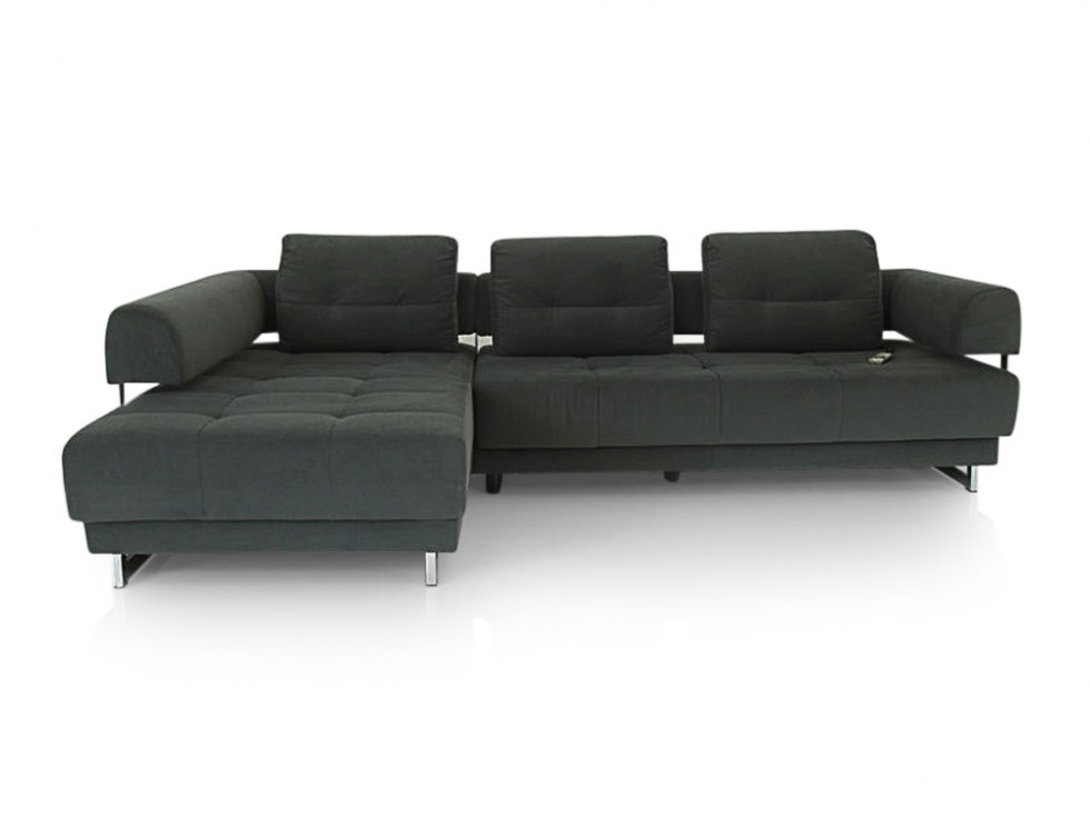 e schillig brand daria sofa mit clubchair mit motorischen sitzvorzug in stoff anthrazit ewald. Black Bedroom Furniture Sets. Home Design Ideas