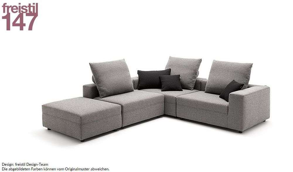 freistil 147 rolf benz sofa erfindet sich immer wieder neu designer ecksofas sofas izabela k - Designer Couch Modelle Komfort