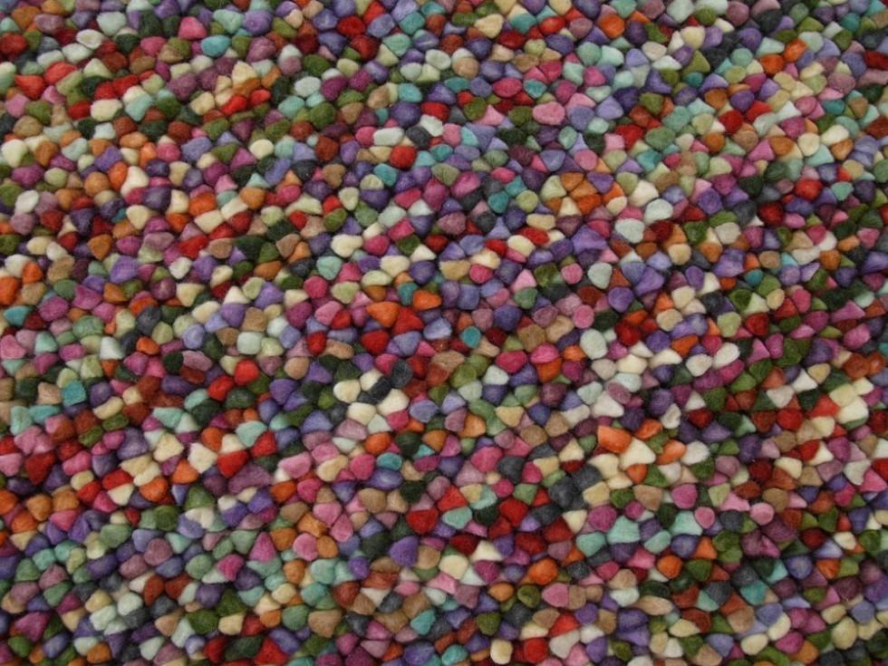 MISSONI HOME LEEDSTOWN Teppich mit bunter Kieselstein-Optik