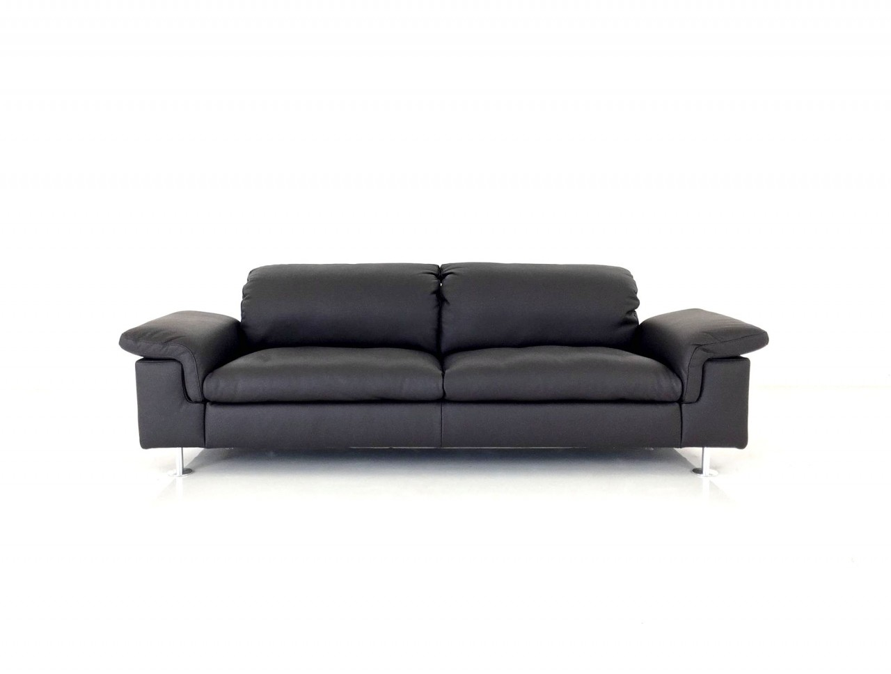 ewald schillig mondo verde sofa im dickleder espresso ewald schillig brand blues ewald. Black Bedroom Furniture Sets. Home Design Ideas