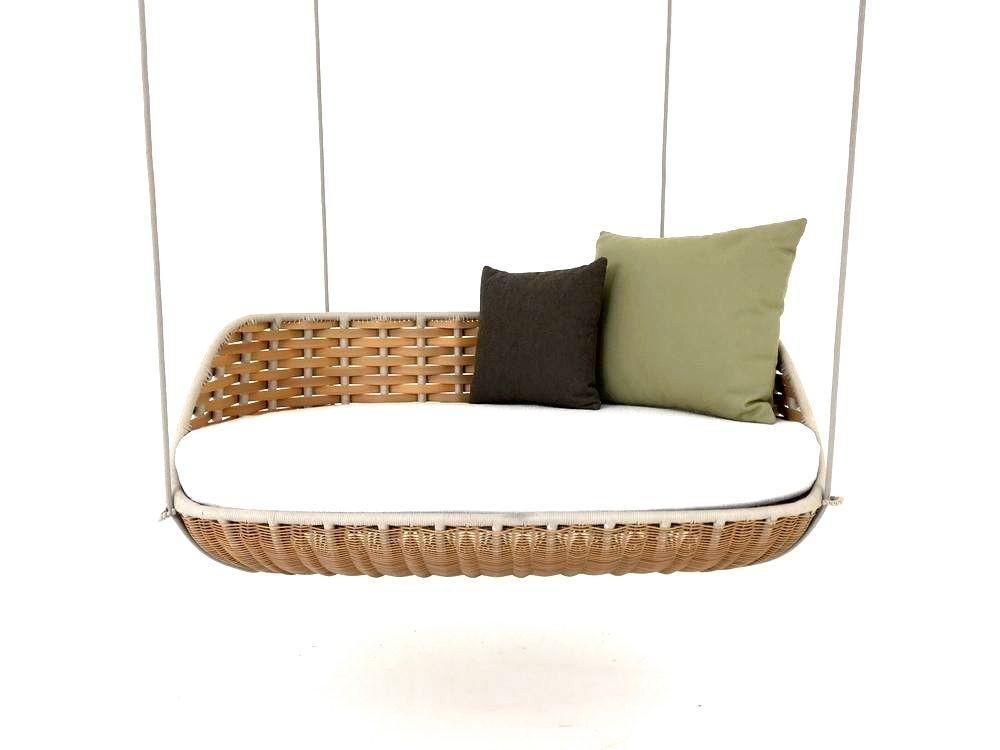 DEDON SWINGUS Hanging Sofa in der Farbe natural