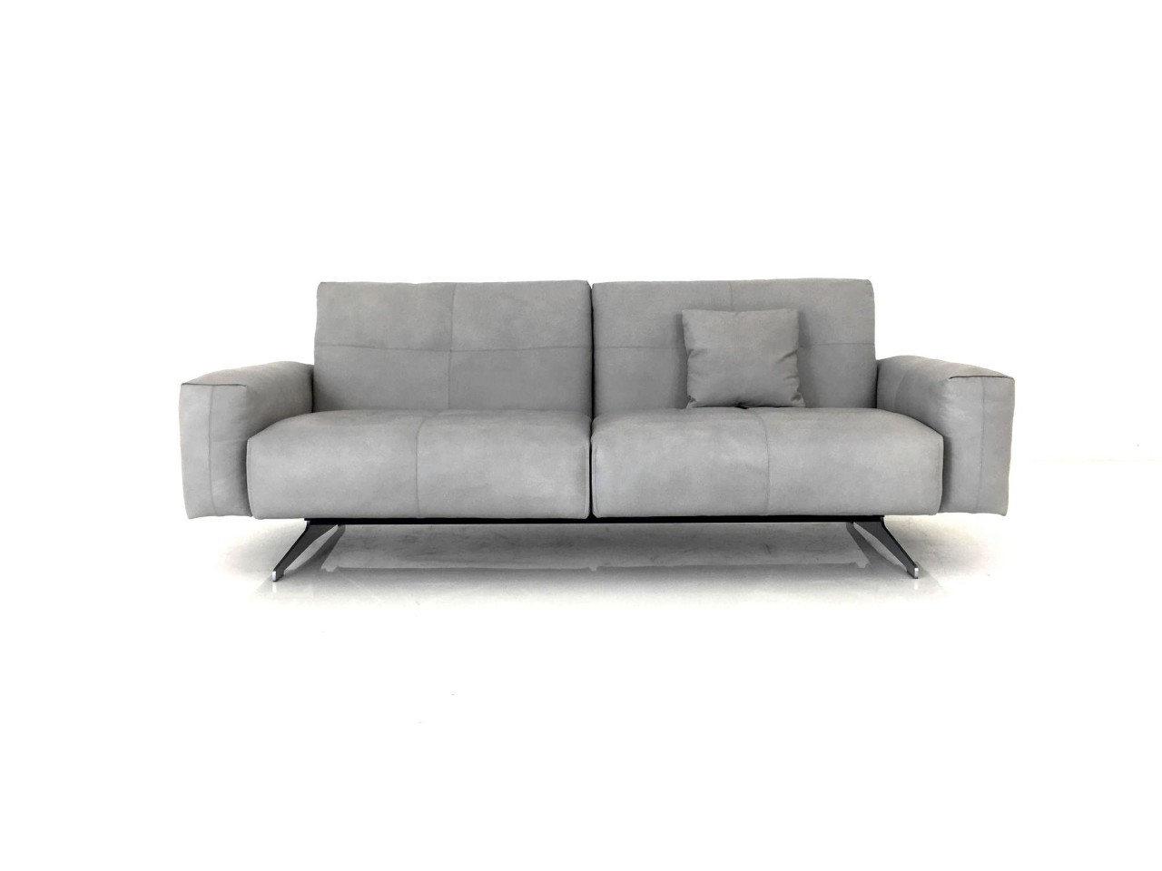 rolf benz rb 50 sofa mit r ckenverstellung in leder. Black Bedroom Furniture Sets. Home Design Ideas