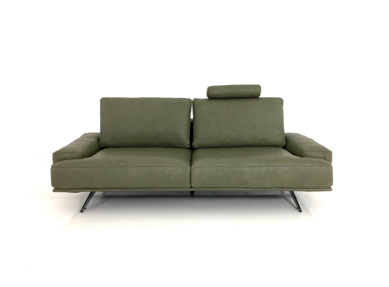 ewald schillig brand amelia xl sofa in anilinleder l150 64 verde ewald schillig brand amelia. Black Bedroom Furniture Sets. Home Design Ideas