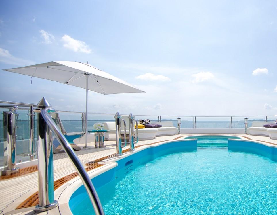 Tuuci Ocean Master Classic taupe 245 x 365 cm Rechteck-Sonnenschirm inkl. Ständer und Husse