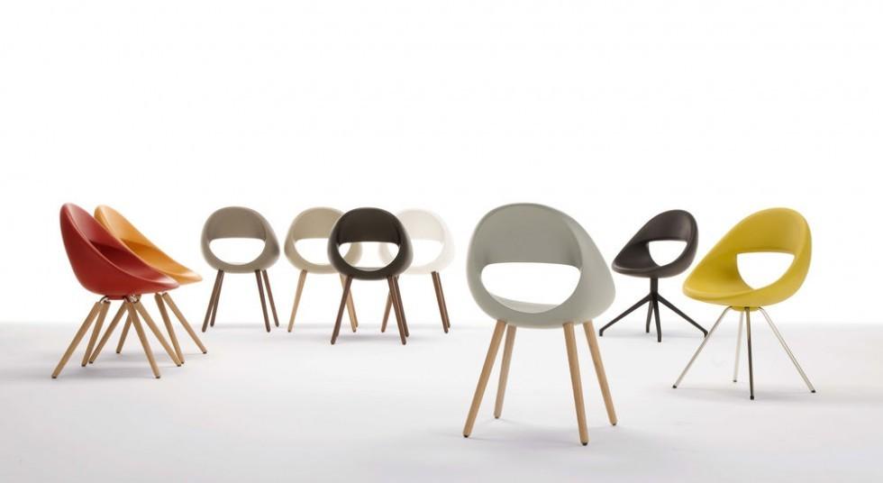 Tonon LUCKY 906 Stuhl in vielen Farben und Varianten