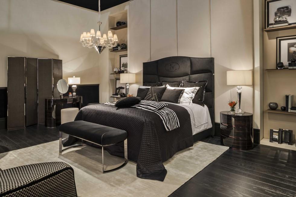 fendi casa night mit george bett und asja beistelltischen und bench bank fendi m bel fendi. Black Bedroom Furniture Sets. Home Design Ideas