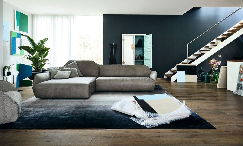h lsta sofa sofa nach wunsch mit recamiere und. Black Bedroom Furniture Sets. Home Design Ideas