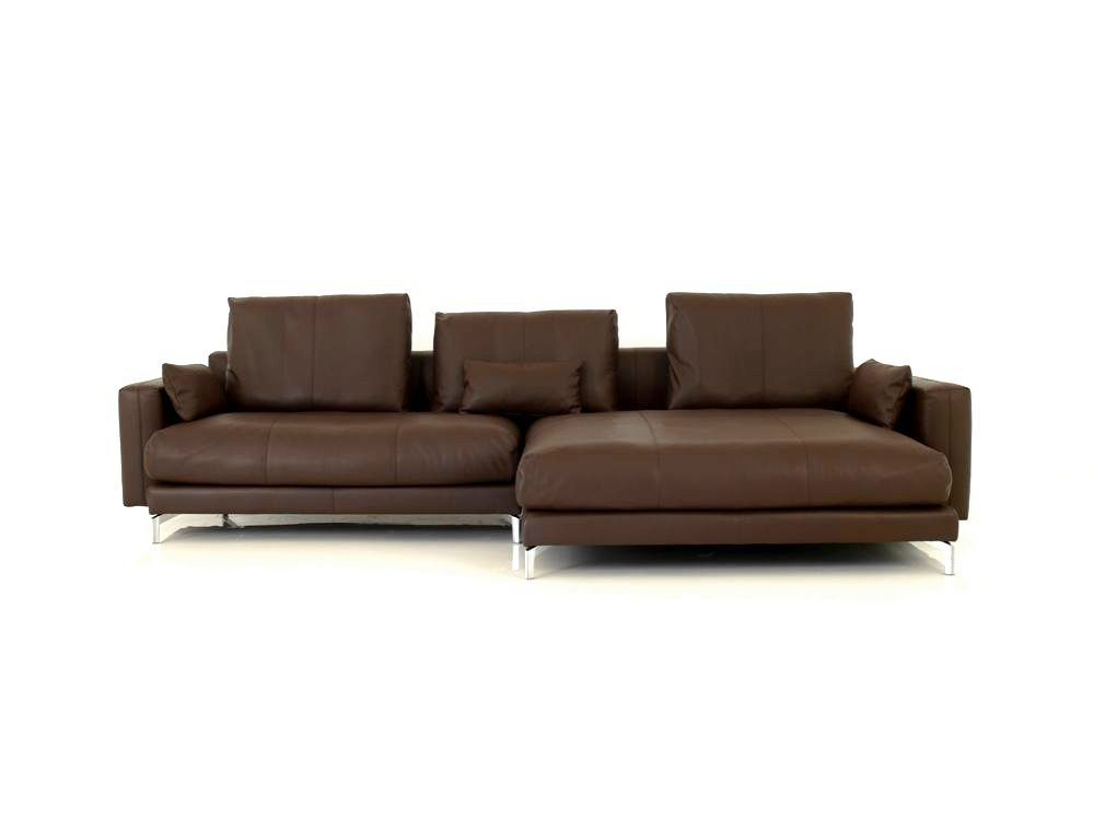 rolf benz nuvola lounge deluxe ecksofa im dunkelbraunen. Black Bedroom Furniture Sets. Home Design Ideas