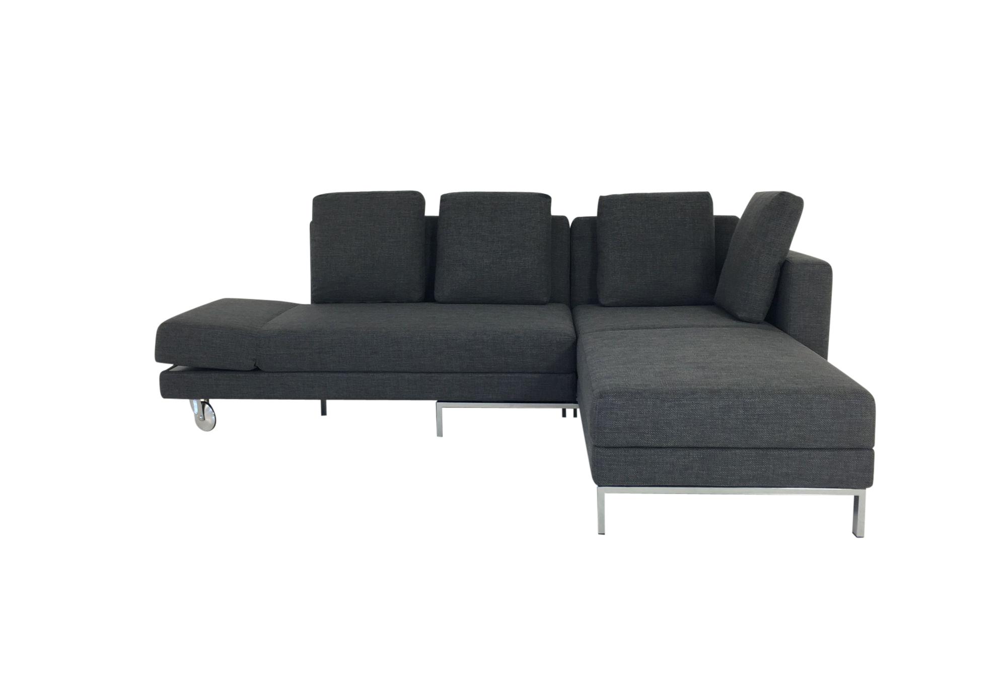 br hl four two sofa mit recamiere und bettfunktion in. Black Bedroom Furniture Sets. Home Design Ideas