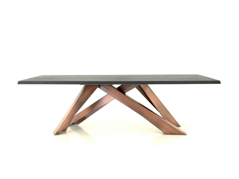 Bonaldo big table designer esstisch in massiver eiche mit for Esstisch design outlet