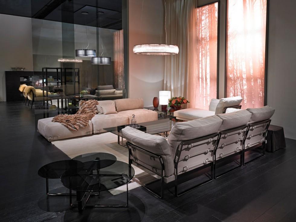 FENDI CASA Metropolitan Sofa