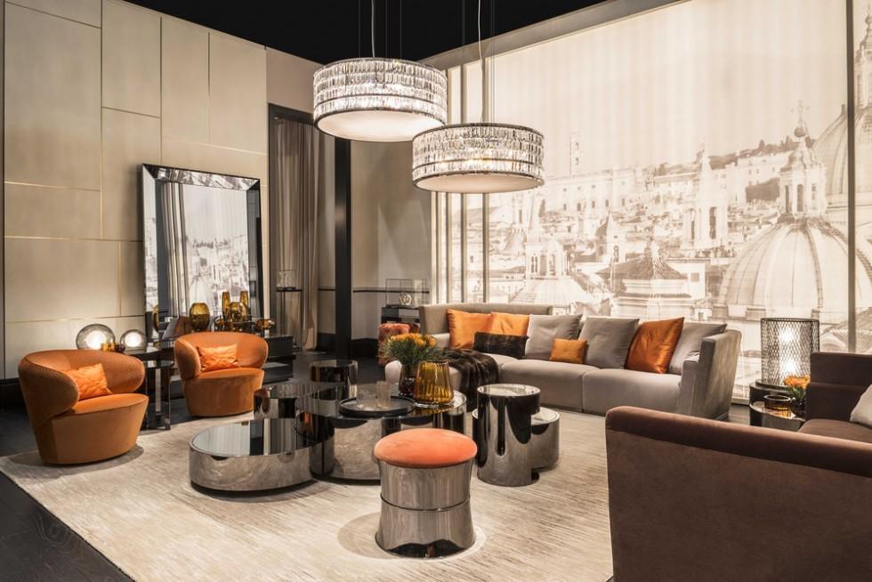 fendi casa living mit borromini sofa und eos sessel fendi m bel fendi casa marken izabela k. Black Bedroom Furniture Sets. Home Design Ideas