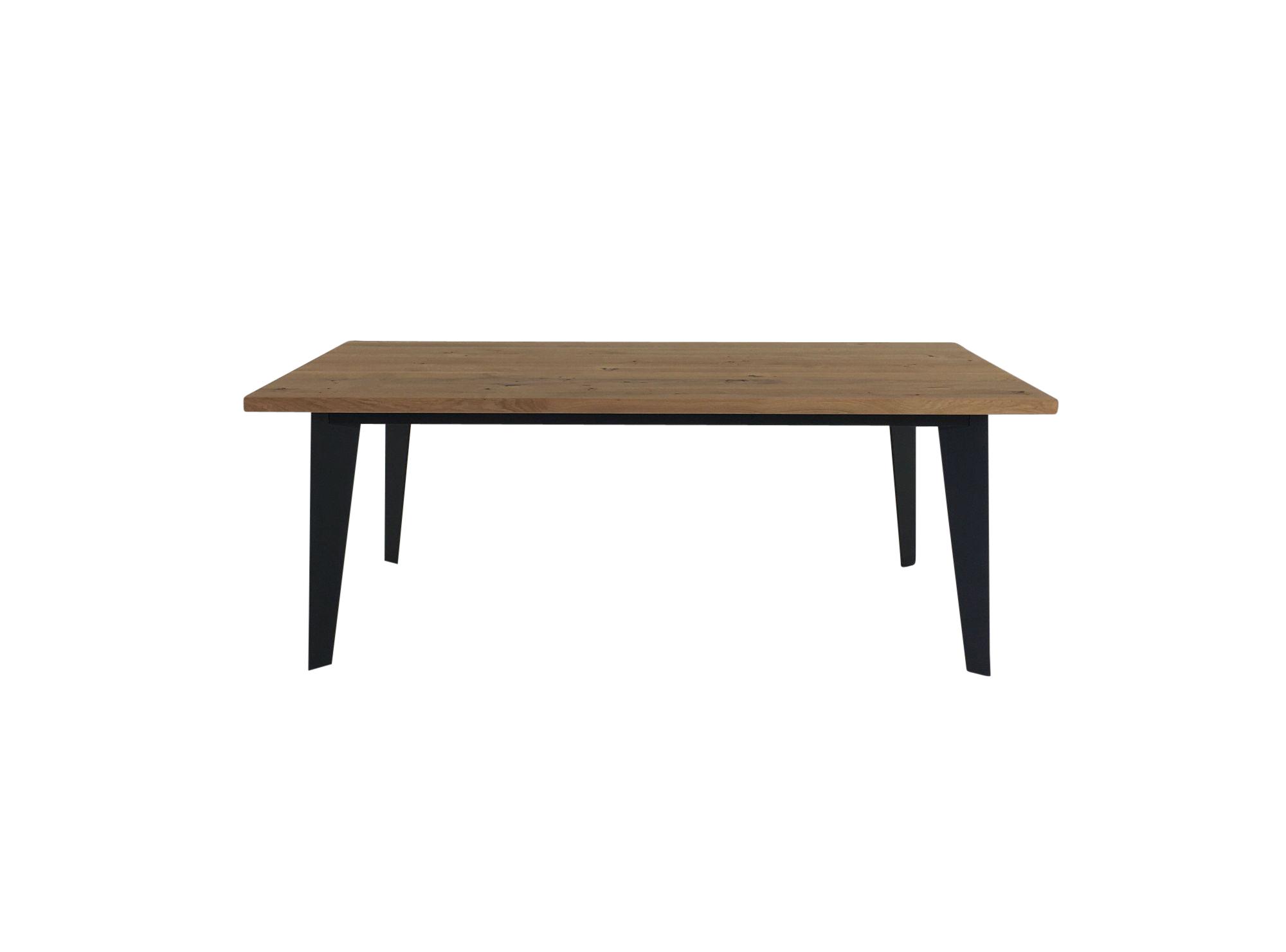 rolf benz 979 esstisch in eiche massiv 200 cm breite und. Black Bedroom Furniture Sets. Home Design Ideas